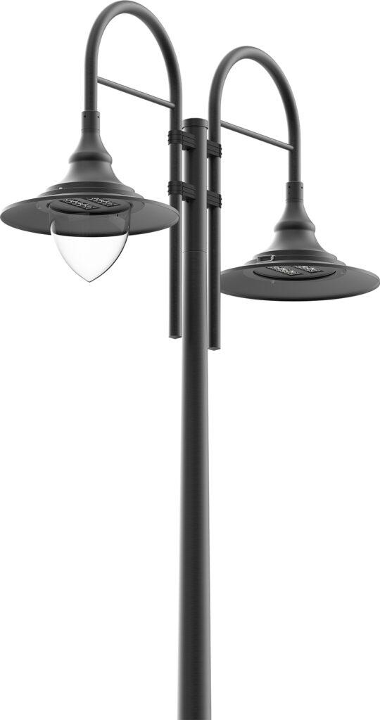 3H Hallwang LED Glockenleuchte