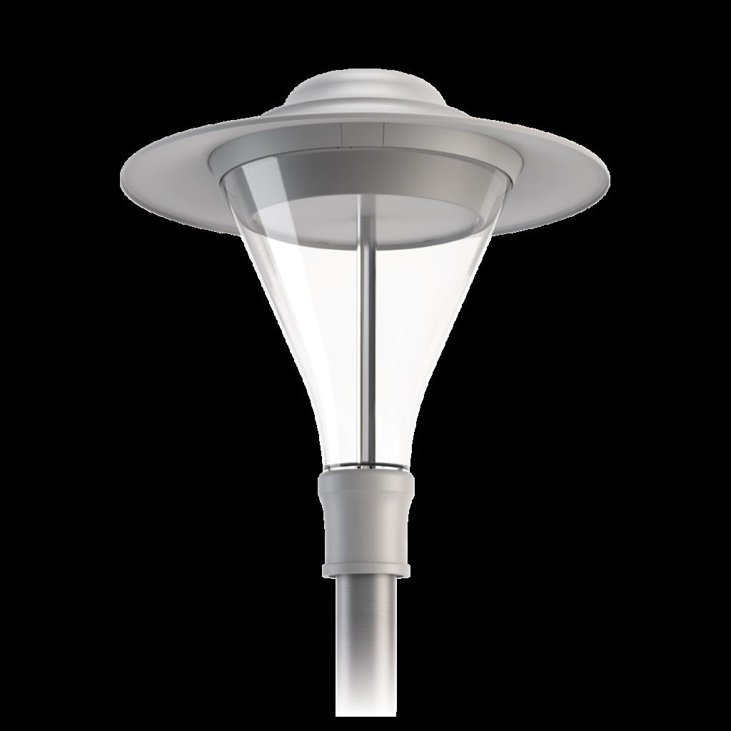 3H Pilz LED grau